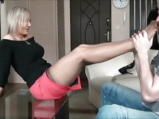 blonde fuck stockings tube