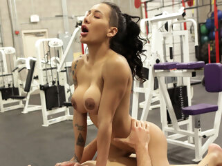big tits fuck gym tube